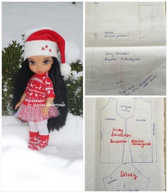 Шьем одежду для куколок 7