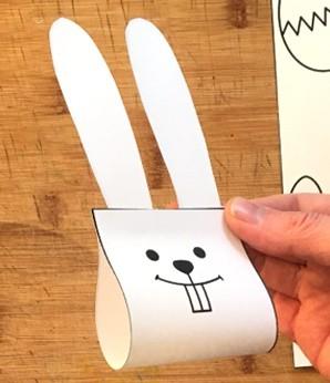 Простейший объемный кролик