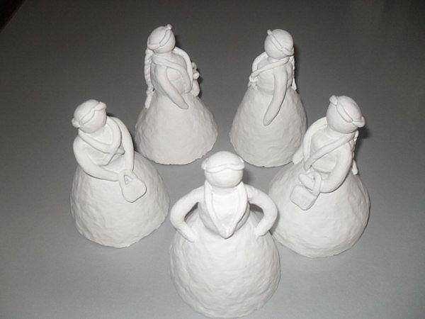 Дымковская игрушка детскими руками