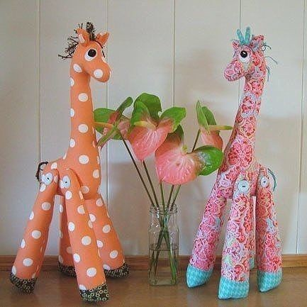 """Мягкая игрушка """"Забавный жирафик"""""""