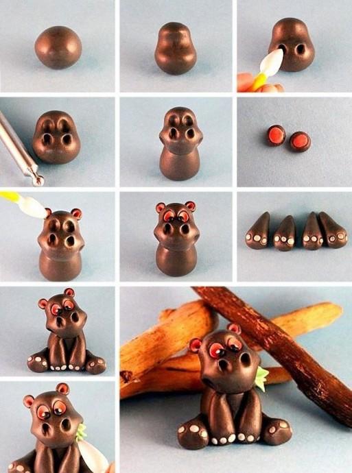 Пластилиновые игрушки 7