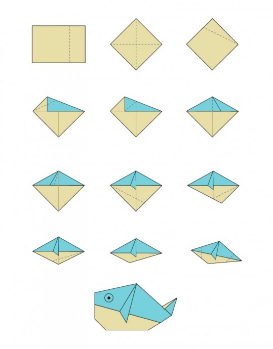 Рыбки оригами