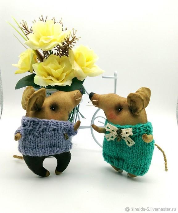 Шьем влюбленных крыс