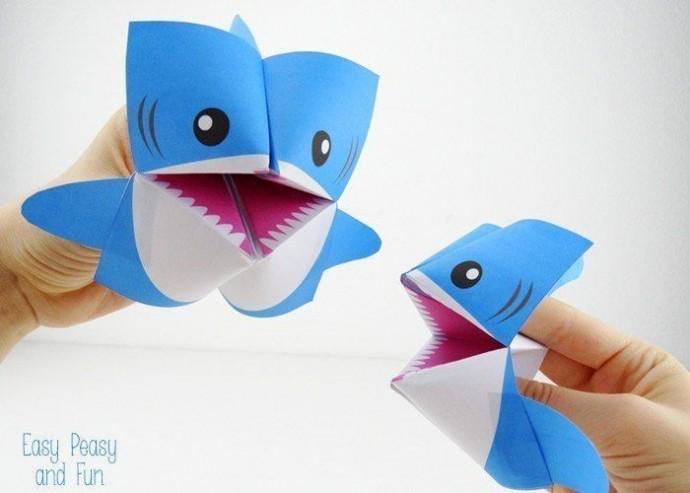 Игрушки-оригами