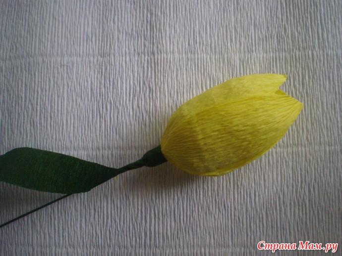 Тюльпаны с конфетками