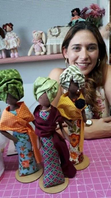 Куколка африканка