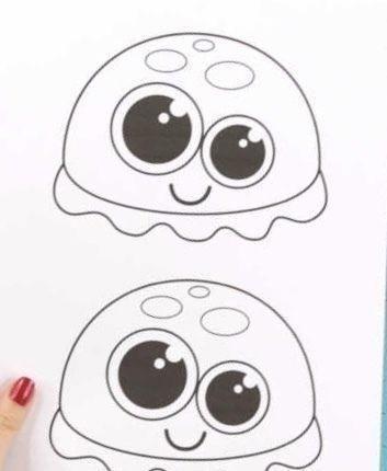 Медузки с объёмными щупальцами