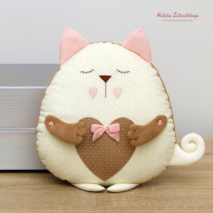 "Подушка-сплюшка ""Котенок"" 0"
