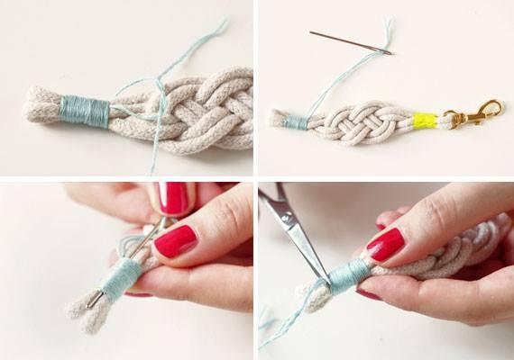 Простые браслеты-фенечки