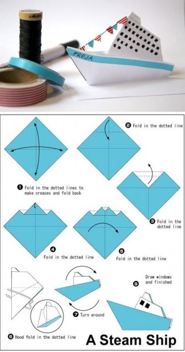 Искусство оригами с детьми 6