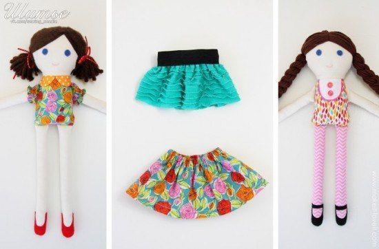 Как сшить куклу 1