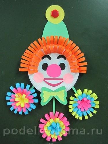 Панно «Клоун»: мастерим вместе с детьми