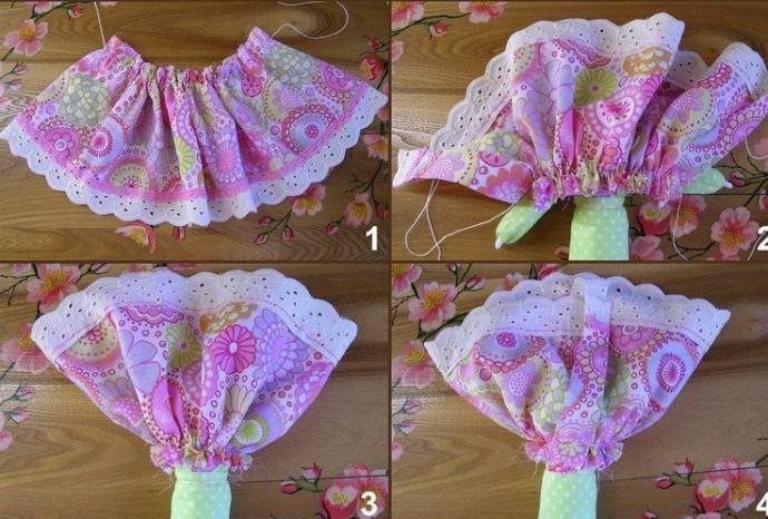Текстильная игрушка-оберег детскими руками