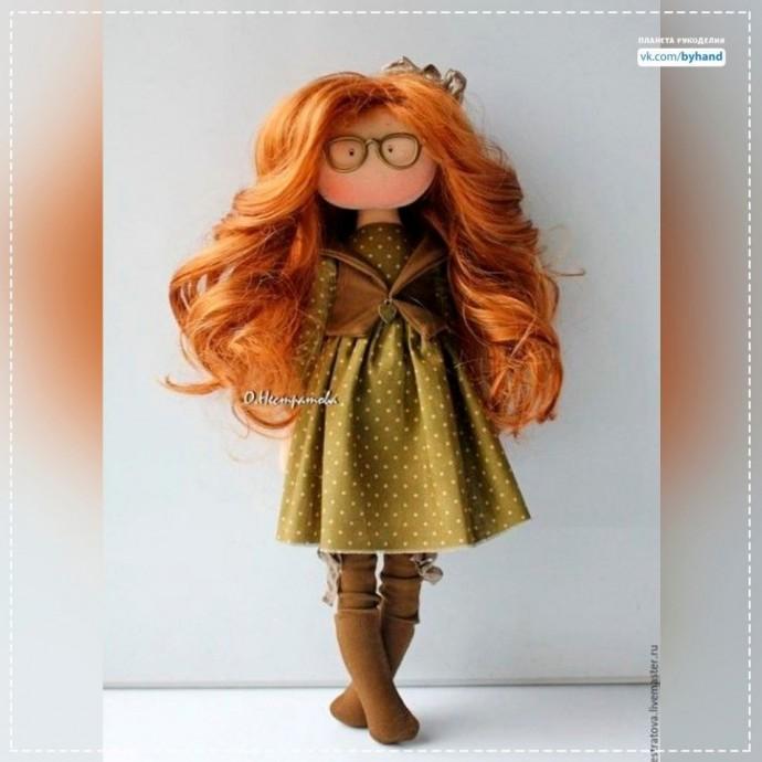 Очаровательные куклы из ткани