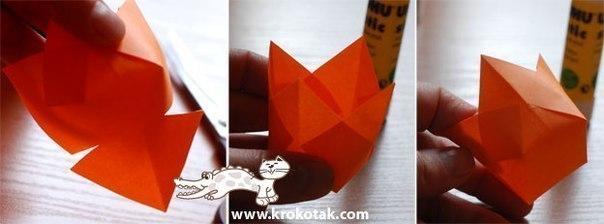 Цветы оригами