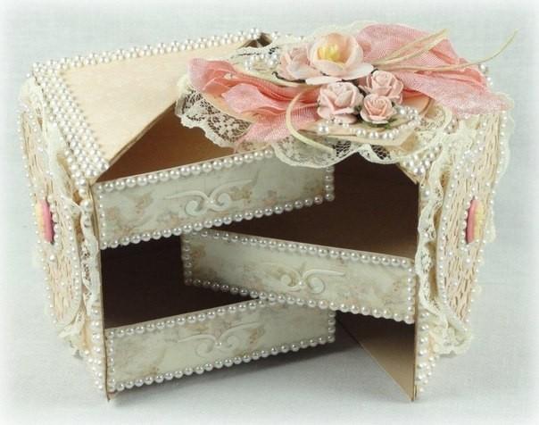 Интересная коробочка с ящиками 1