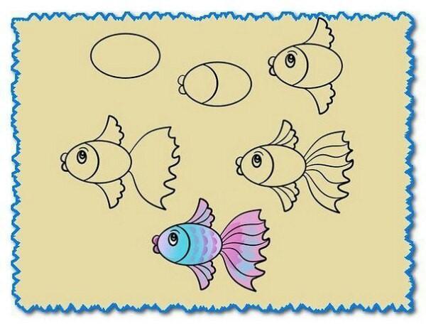 Рисуем с детьми животный мир