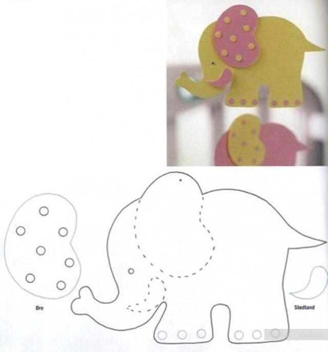 Животные из фетра