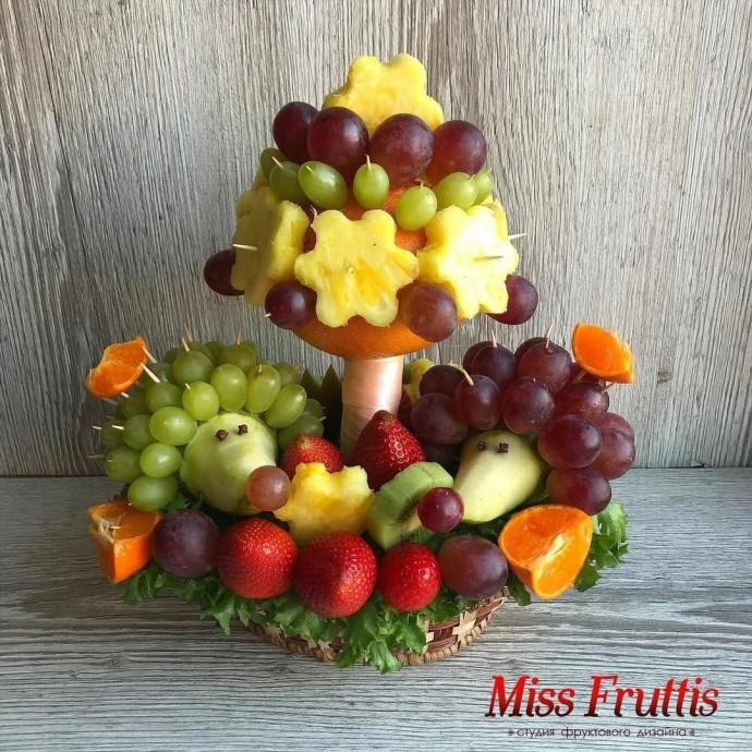 Идеи поделок с детьми из овощей и фруктов