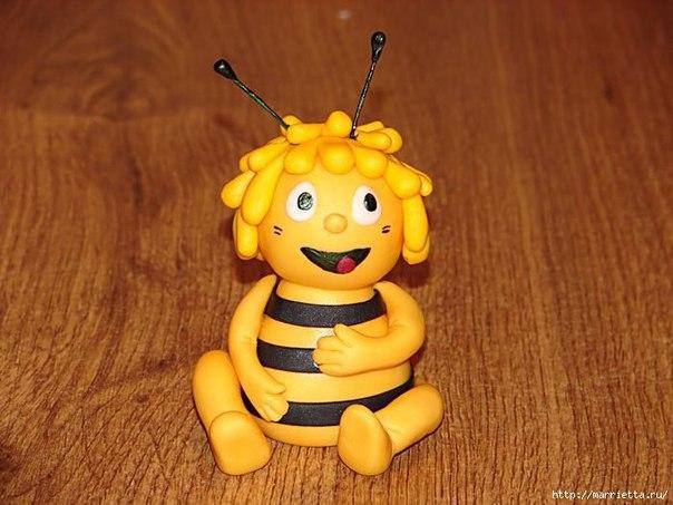 Лепим пчёлку 0