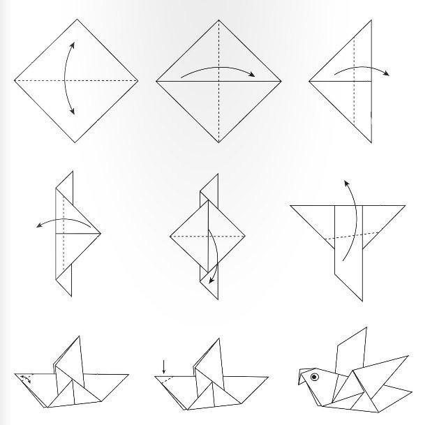 Простые модели оригами для детей