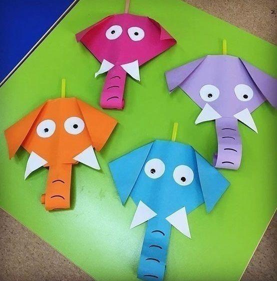 Идеи создания животных из бумаги