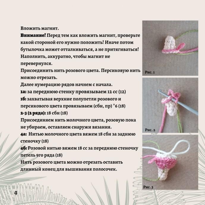 Бесплатное описание бутылочки для игрушек
