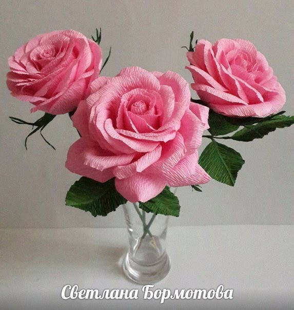 Мастер-класс по созданию объемной розы