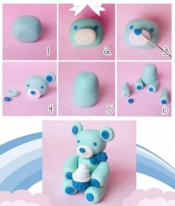 Пластилиновые игрушки 0