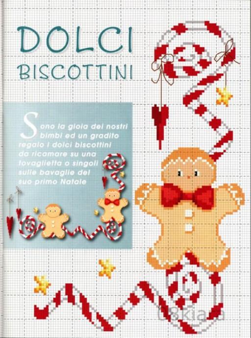 Подборка милых новогодних схем вышивки в детскую копилочку: пряники