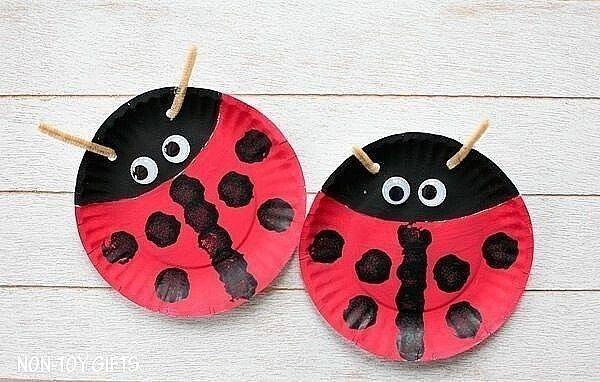 Поделки из бумажных тарелочек: идеи для творчества с детьми
