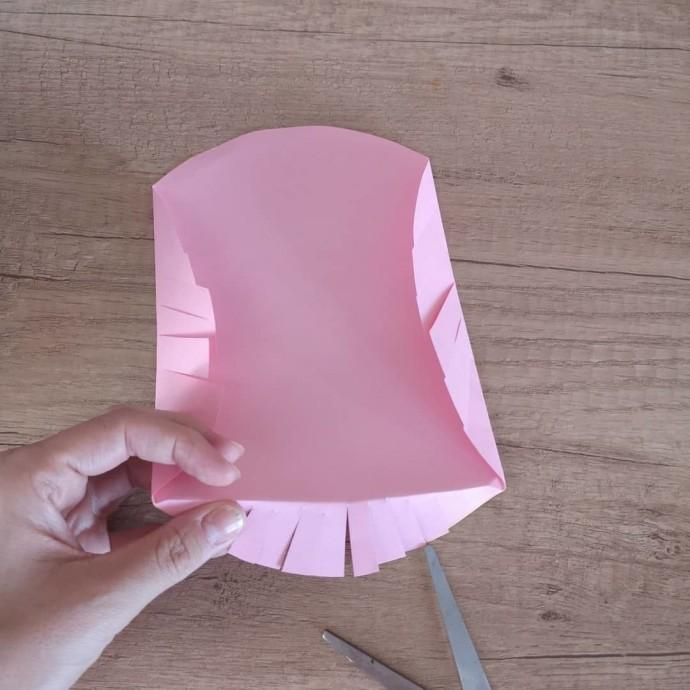 Совушка из цветной бумаги