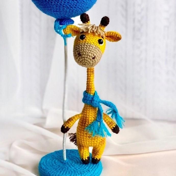 Жирафик крючком