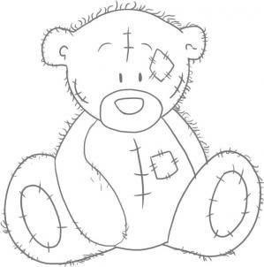 Рисуем мишку Тедди 4
