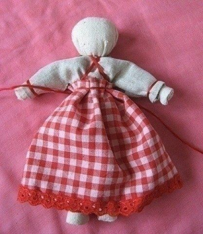 Тряпичная куколка-оберег
