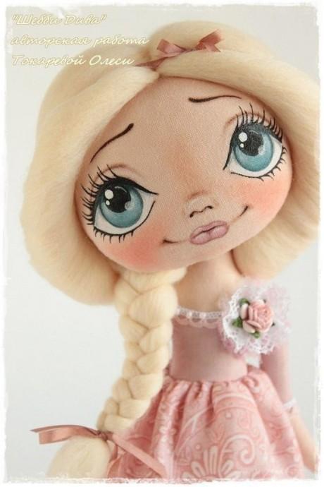Выкройки разных куколок