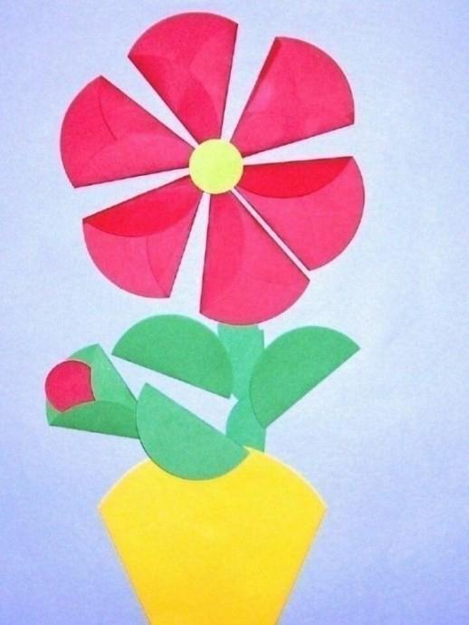 Цветочные аппликации: идеи 7