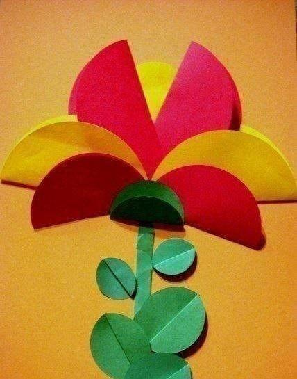 Интересные поделки из цветной бумаги