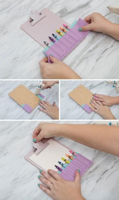 Планшет-держатель для карандашей