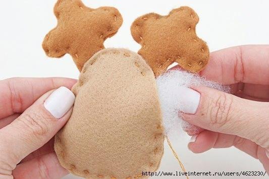 Мягкая игрушка детскими руками 3