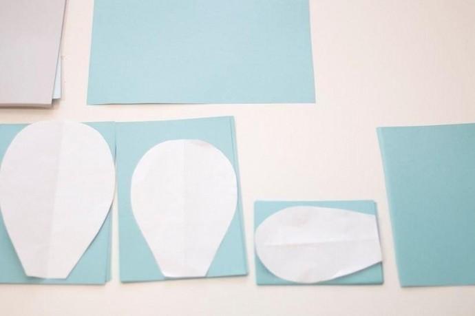 Как сделать большой цветок из бумаги