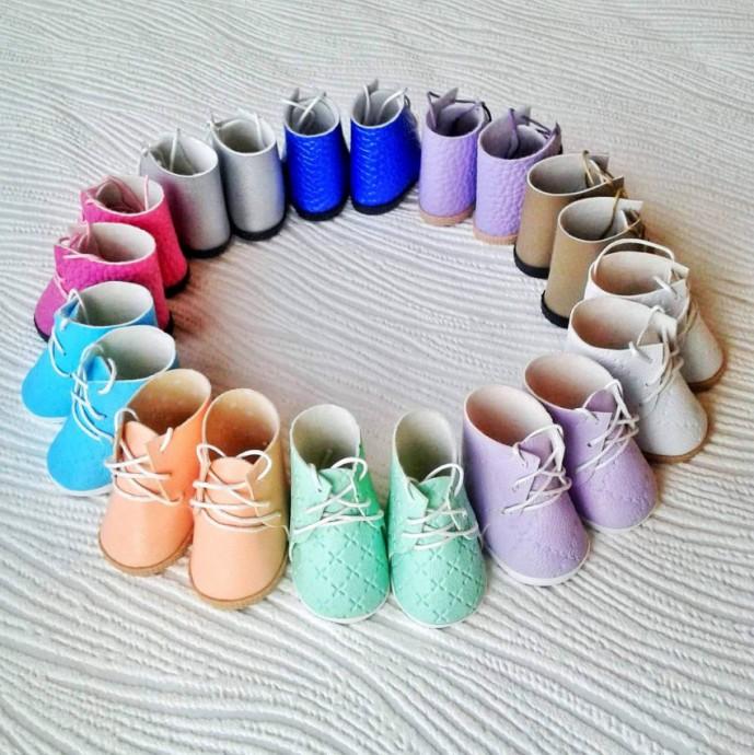 Ботиночки для кукол и игрушек 8