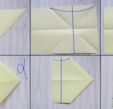 Самолетик-оригами 1