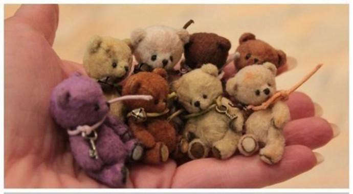 Мягкие игрушки мишки