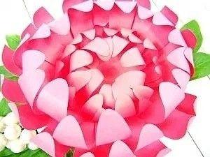 Хризантемы из бумаги 8