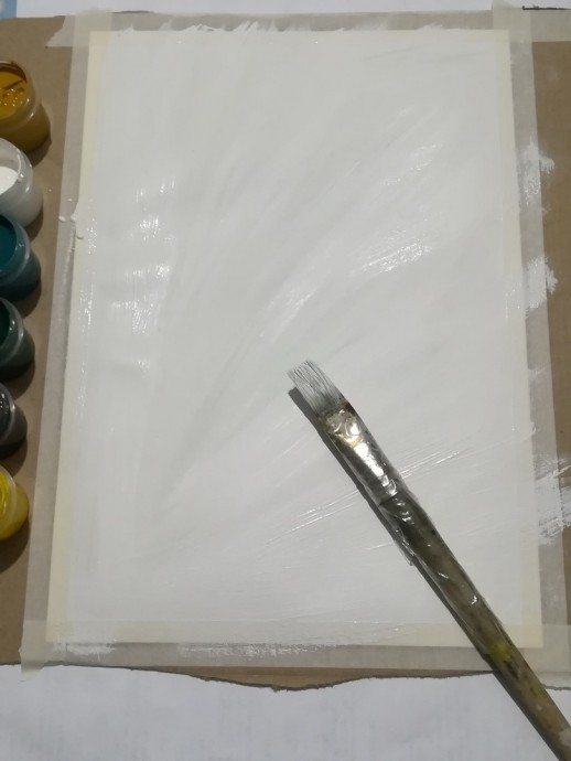 Рисуем одуванчики