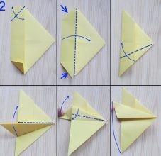 Самолетик-оригами 2