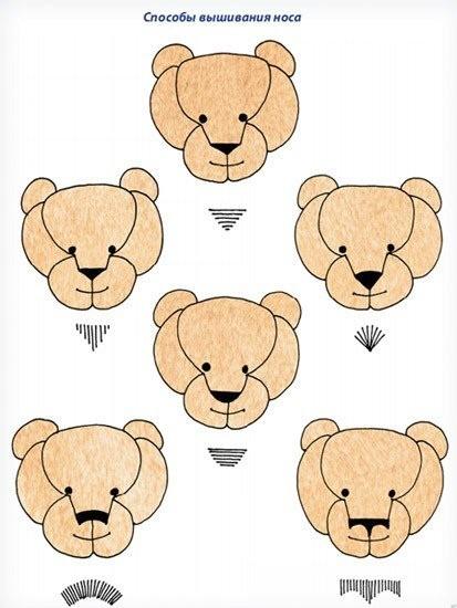 Как раскроить и сшить мишку Тедди