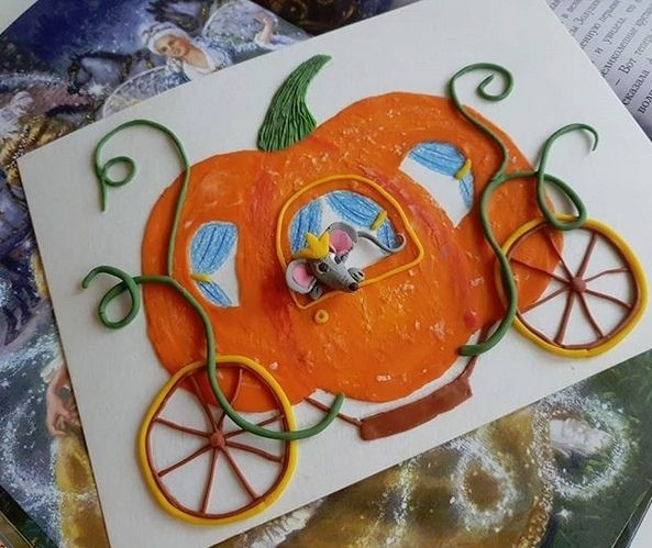 Объёмные картины из пластилина: идеи для детского творчества