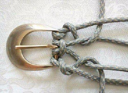 Плетение ремня в подарок родителям